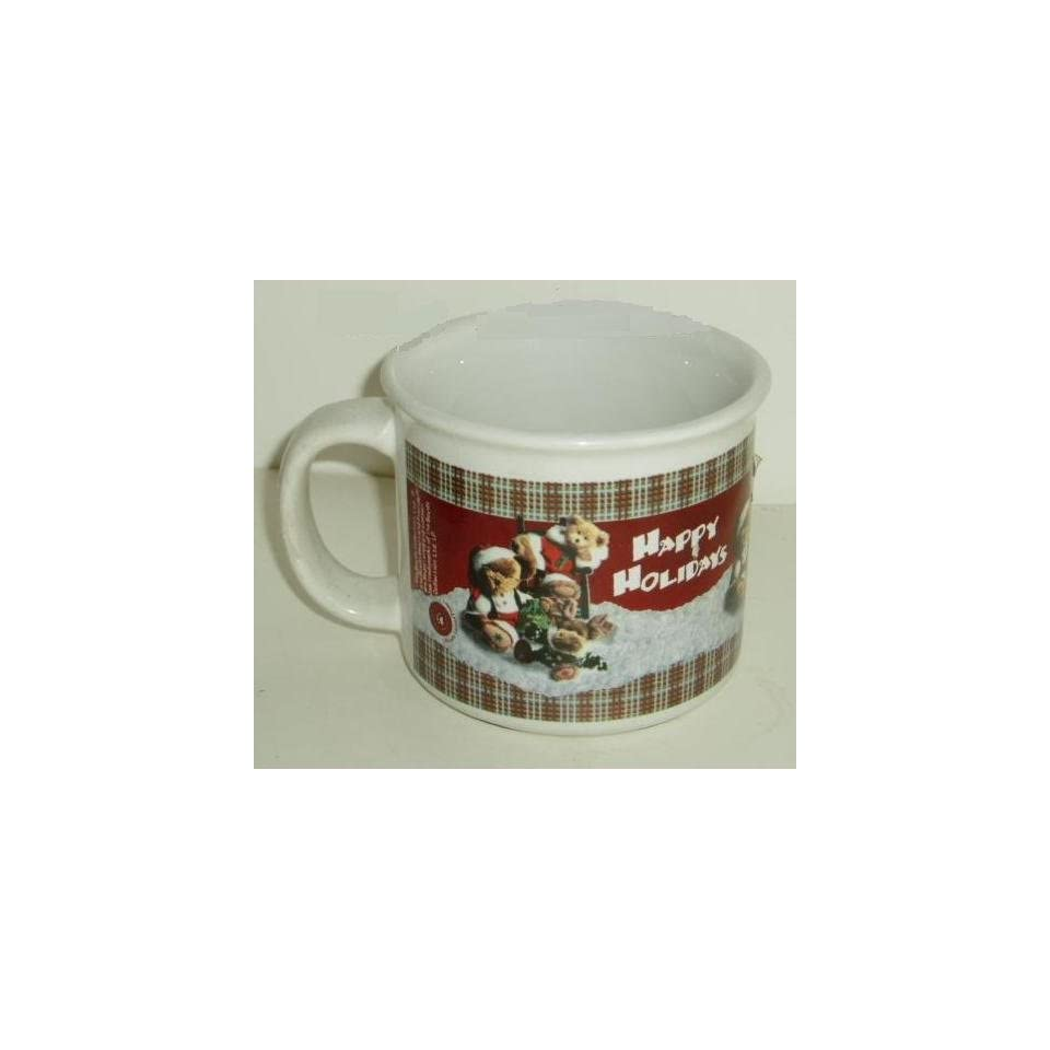 Boyds Bears & Friends Collection Holiday Coffee Mug