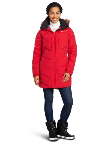 Helly Hansen Women's Hilton Down Parka Jacket, Red, Medium