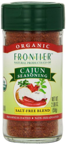 Frontier Cajun Seasoning Certified Organic, 2.08-Ounce