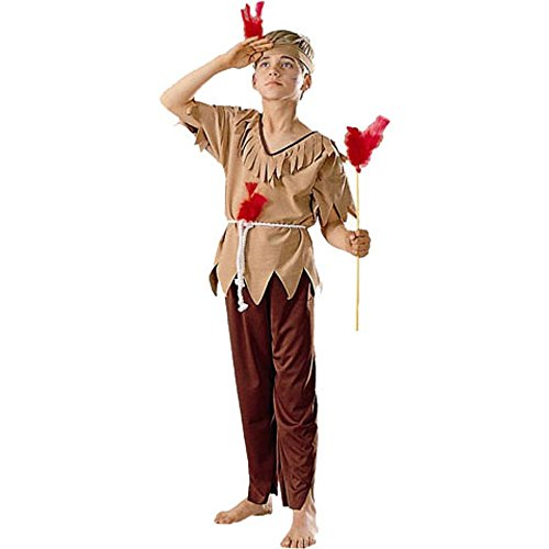 Kid's Indian Halloween Costume (Size:Medium 8-10)
