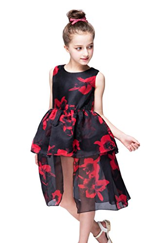 yming-girls-chiffon-flower-girl-birthday-party-tutu-tulle-black-dress