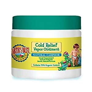 Earth's Best Organic Cold Relief Vapor Ointment -- 2.8 oz