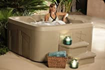 Big Sale Lifesmart Rock Solid Simplicity Plug and Play 4 Person Spa With 12 Jets