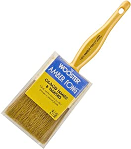 Wooster Brush 1123-2-1/2 Amber Fong Paintbrush, 2-1/2-Inch