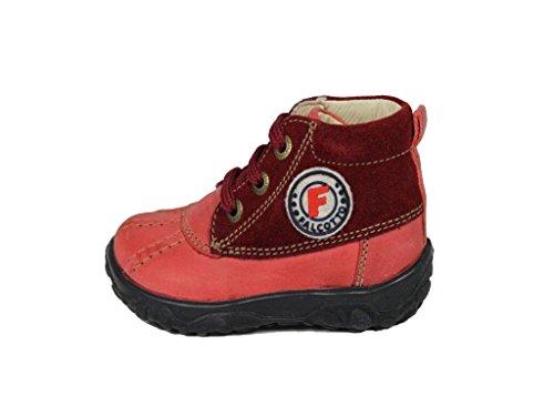 Naturino1120 - Stivali Desert Boots Bimba 0-24 , Rosso (rosso), 21
