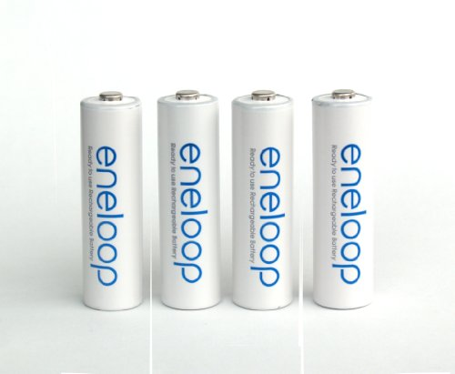 Sanyo 16 Pack New Version Sanyo Eneloop 2000 MAH LOW Discharge AA Batteries Sixteen Battery Bundle