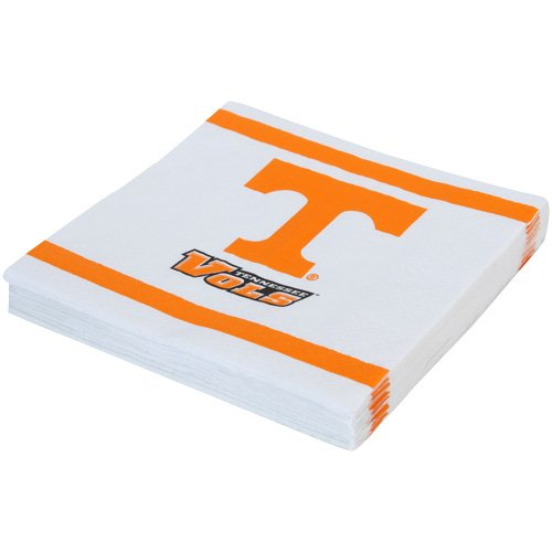 Mayflower Distributing Company 20 Count University of Tennessee Lunch Napkin, Multicolor