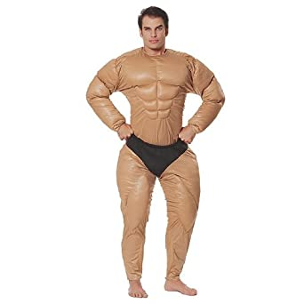 Bodybuilder Adult Costume - Standard