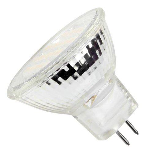 5 lampade mr11 gu4 24 led smd bianco caldo 3600k 140lm. Black Bedroom Furniture Sets. Home Design Ideas