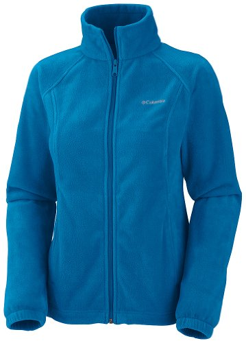 Columbia Women's Benton Springs Full Zip Fleece Jacket, Dark Compass, X-Large