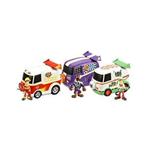 Scooby Doo Vehicles And Figures