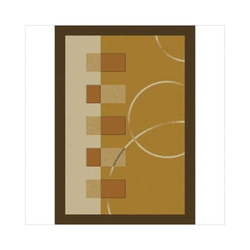 Home Dynamix Contemporary Area Rug, Home Dynamix Modern Weave 5'x8' Gold at Sears.com