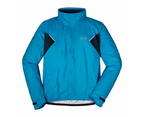 JACK WOLFSKIN Cyclone Men's Jacket, Blue, S