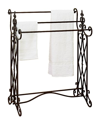 Deco 79 Metal Towel Rack, 36 by 27-Inch (Iron Quilt Stand compare prices)