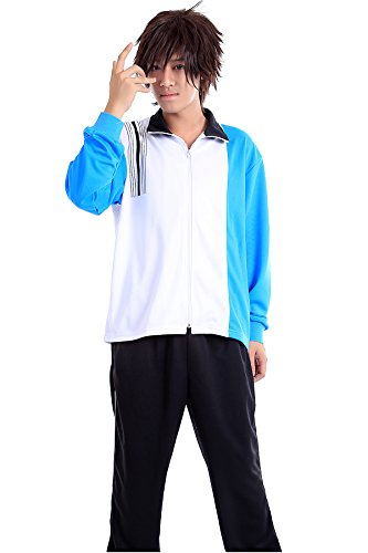 WS_COS Prince of Tennis Cosplay Seigaku High School Winter Sport Outfit Kid S