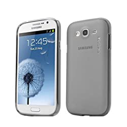 Capdase Soft Jacket Xpose Back Case for Samsung Galaxy Grand 2 SM-G7102,7106 - Tinted Black (SJSGG7106-P201)