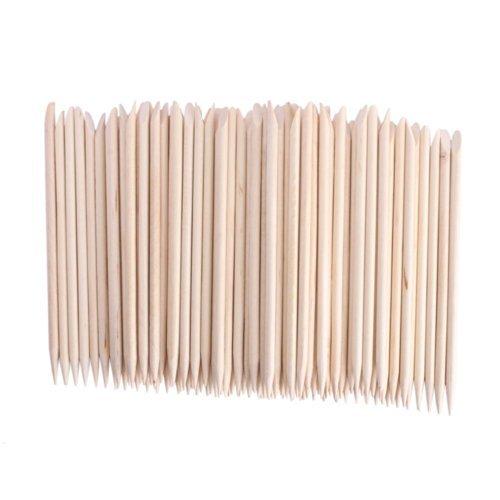 adecco-llc-50pcs-nail-art-orange-wood-sticks-cuticle-pusher-remover-manicure-pedicure-tool-110mm-by-