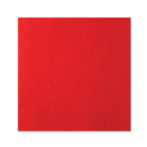 Red Luncheon Napkins (3-Ply)    (20/Pkg)