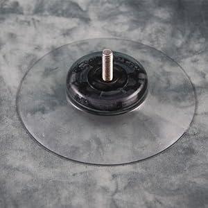 Saugnapf klar 100 mm Durchmesser (M6 x 20mm)