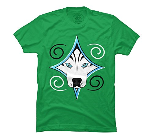 Husky Diamond Men'S 3X-Large Kelly Green Graphic T Shirt - Design By Humans