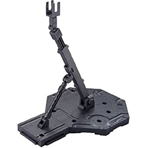 Bandai Hobby Action Base 1 Display Stand (1/100 Scale), Black