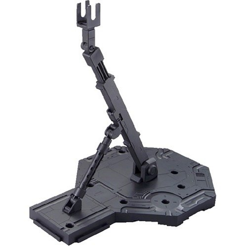 Bandai Hobby Action Base 1 Display Stand (1/100 Scale), Black - 1