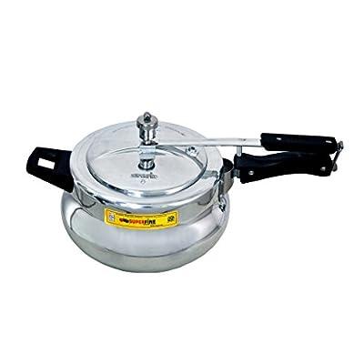 Superfine Deluxe Aluminium Pressure cooker 3ltr