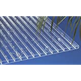 Acryl Stegplatten Hohlkammerplatten klar 2000 x 980 x 16 mm (55,71 EUR/qm)