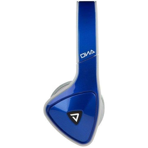 Monster Dna On-Ear Headphones - Cobalt Blue Over Dark Gray (128467)