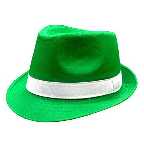 St. Patrick's Day Irish Kelly Green Fedora Hat