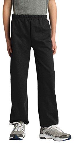 Gildan Boys Heavy Blend Sweatpant, XL, Black