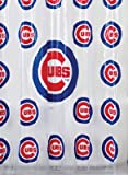 """Chicago Cubs Shower Curtain, 72"""" x 72"""""""