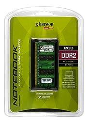 Kingston ValueRAM 2 GB 667MHz DDR2 Non-ECC CL5 SODIMM Notebook Memory