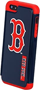 Forever Collectibles Boston Red Sox Rugged Dual Hybrid Apple iPhone 5 & 5S Case by Forever Collectibles