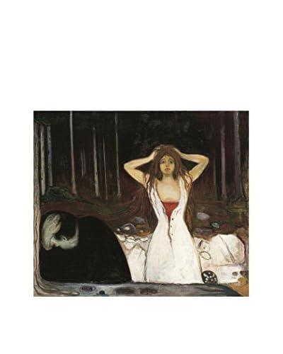 LegendArte Pannello Decorativo su Tela Ceneri di Edvard Munch