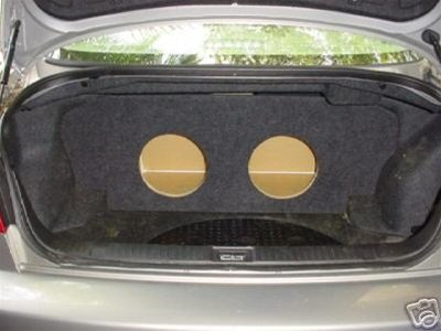 "Zenclosures 2003-2006 Infiniti G35 Sedan 2-10"" Subwoofer Box (Fits Model With Full Size Spare Only)"