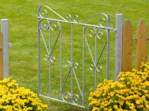 Winsor Metal Garden Gate Ready to fit with 2 posts (91.5cm)