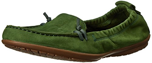 Hush Puppies Women'S Ceil Slip On_Mt Moccasin,Forest Green,6.5 M Us