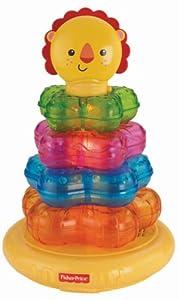 Fisher Price - León Aros Apilables de Mattel