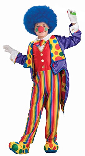 Forum Novelties Little Designer Collection Classy Clown Child Costume, Small