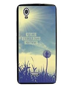 Techno Gadgets Back Cover for Lava Iris Selfie 50