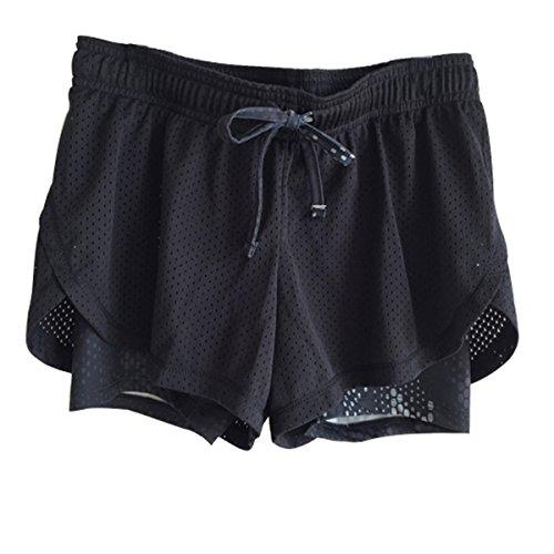 FEILV-Womens-Active-Mesh-2-in-1-Run-Sport-Shorts