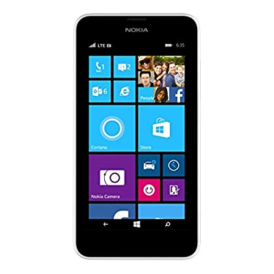 T-Mobile Nokia Lumia 635 - No Contract Phone (White)