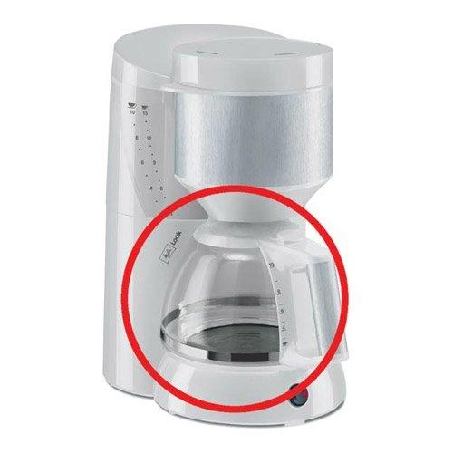 Ersatzkanne Typ 93 für Melitta LOOK Aromamagic M 622 Kaffeemaschine / Glaskanne / Kaffeekanne / Kannen, Glaskanne - Silber