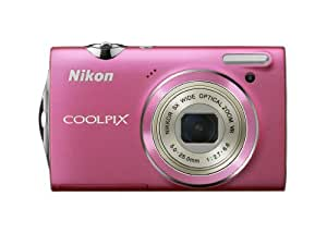 Nikon Coolpix S5100 12.2 MP Digital Camera with 5x Optical Vibration Reduction (VR) Zoom and 2.7-Inch LCD (Pink)