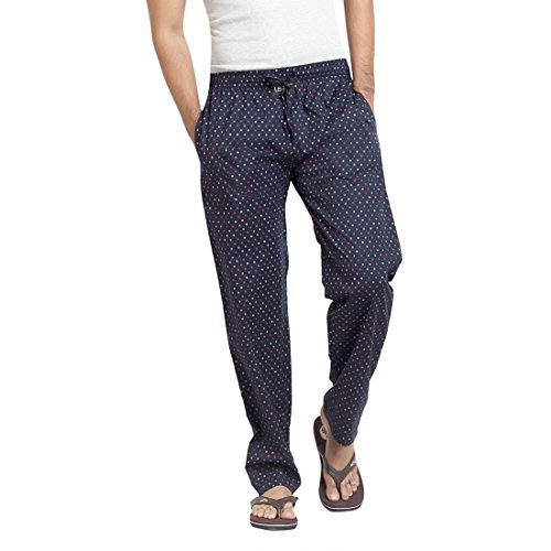 London-Bee-Mens-Casual-Printed-Cotton-Navy-Color-Pyjama-Lounge-Night-Pant