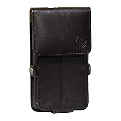 Jo Jo A6 G12 Series Leather Pouch Holster Case For BlackBerry Porsche Design P9982 Brown