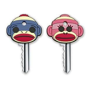 Fred & Friends SOCK MONKEY Key Caps, Set of 2