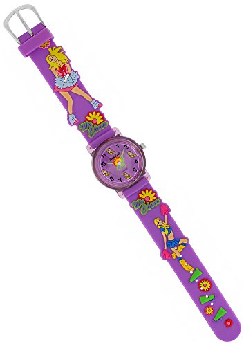 pacific-time-kinder-armbanduhr-cheerleader-analog-quarz-lila-20771
