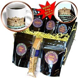 Vacation Spots - Trevi Fountain Italy - Coffee Gift Baskets - Coffee Gift Basket